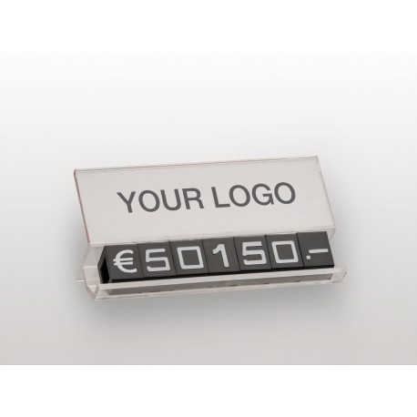 PRICE SUPPORTS WITH YOUR LOGO